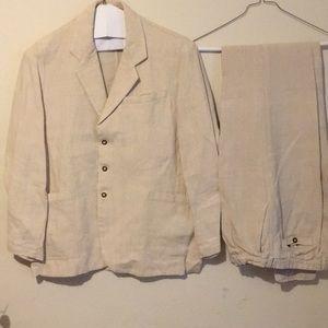 Ecolution eco-hemp pants & blazer size Small